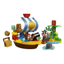 LEGO Duplo Jake and the Never Land Pirates Jake's Pirate Ship Bucky