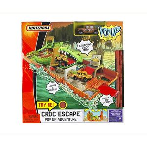 Matchbox Croc Escape Pop Up Adventure Set