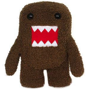 Domo Plush and Poseable Plush