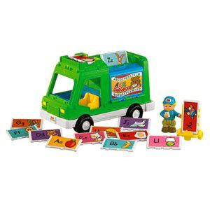 Little People Sing 'N Learn Delivery Truck