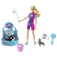 Barbie I Can Be... Seaworld Trainer Playset