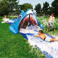Banzai 3-D Shark Bite Water Slide