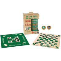 National Parks Checkers & Tic Tac Toe Campfire Games