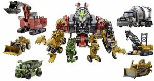 Transformers Movie Constructicon Devastator