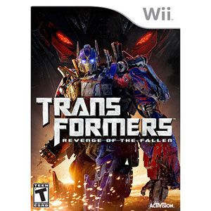 Transformers: Revenge of the Fallen for Nintendo Wii