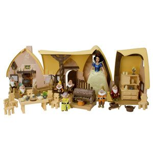 Snow White Cottage Playset