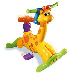 Ride & Learn Giraffe Bike