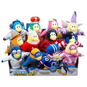 Club Penguin 6.5-inch Plush