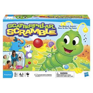 Scatterpillar Scramble Game