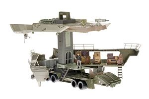 G.I. JOE Movie Pit Playset