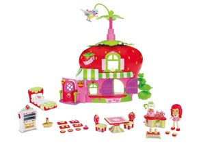 Strawberry Shortcake Berry Café Playset