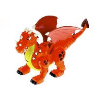 Imaginext Adventures Fire-Breathing Walking Dragon