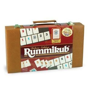 Deluxe Edition Rummikub in Leatherette Case