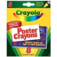Poster Crayons