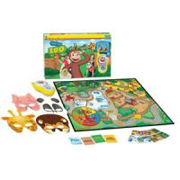 Curious George Hide and Seek Zoo Game