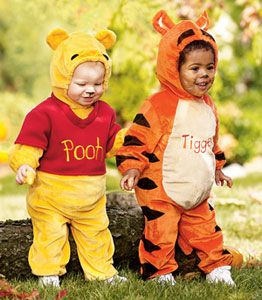Tigger and Pooh Infant Costumes