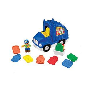 Little People Sing 'n Learn Recycling Truck