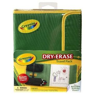 Crayola Dry-Erase Crayons & Travel Activity Center