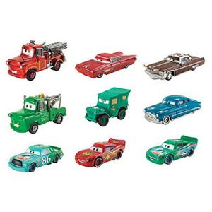 <em>Cars</em> Color Changers Vehicles and Playset