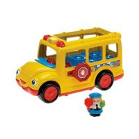 Little People Stop 'n Surprise School Bus and Spin 'n Fly Airplane Vehicle