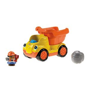 Little People Rumblin' Rocks Dump Truck and Open & Close SUV Vehicles