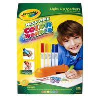 Color Wonder Light Up Markers & Drawing Pad