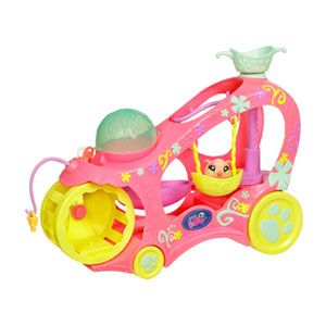 Littlest Pet Shop Paw Powered Cruiser Playset