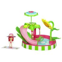 Strawberry Shortcake Splash and Petal Pool Playset