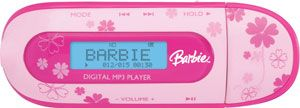 Barbie MP3 Player With Direct USB Plug