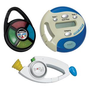 Bop-It, Simon, Catch Phrase Carabiners