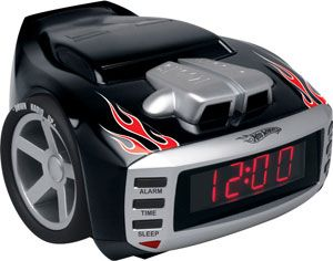Hot Wheels Snore Slammer Alarm Clock
