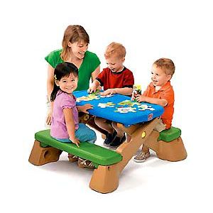 Play Up Fun-Fold Jr. Picnic Table
