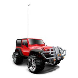 Jeep Wrangler Rubicon Radio Control Vehicle