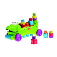 Stack 'n Surprise Blocks Musical Croc Block Wagon