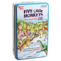 Five Little Monkeys Can't Catch Me Card Game
