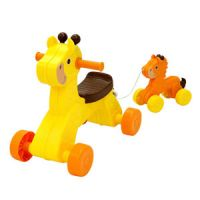 New Beginnings Beanstalk the Giraffe and Lil' Sprout Ride-On