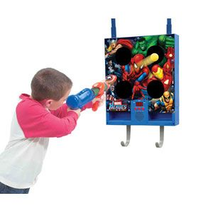 Marvel Heroes Electronic Ball Blaster