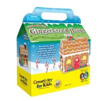Create with Clay Gingerbread House
