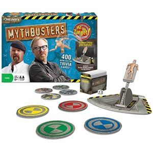 Mythbusters Hit the Target! Trivia Game
