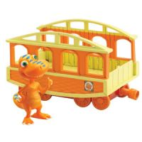 Dinosaur and Train Car 2-packs