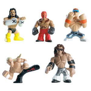 WWE Rumblers Figures