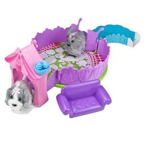 Zhu Zhu Puppies Posh Puppy Playhouse
