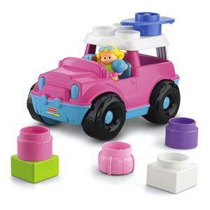 Little People Build 'n Drive SUV
