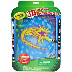 3-D Dry Erase Activity Set