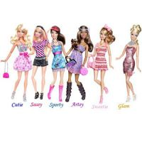 Barbie Fashionistas Swappin' Styles