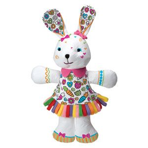 Color & Cuddle Washable Bunny