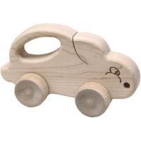 Schoolhouse Naturals Push N Pull Bunny
