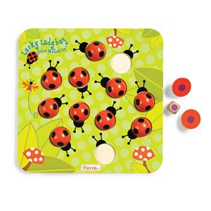 Lucky Ladybug Color Match-Up