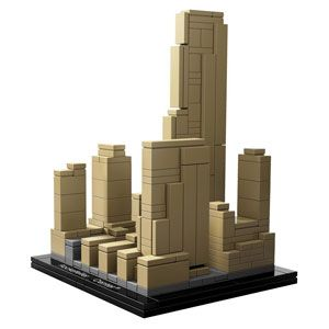 LEGO Architecture: Rockefeller Center