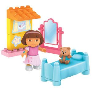 Dora's Buildable Bedroom